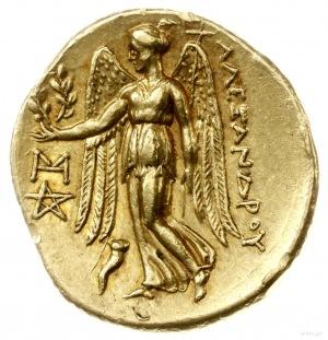 stater ok. 323-317 pne, Abydus (?); Aw: Głowa Ateny w h...