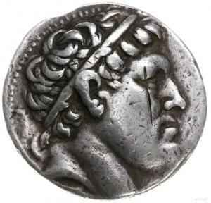 tetradrachma; Aw: Głowa Philetairosa w prawo; Rw: Atena...