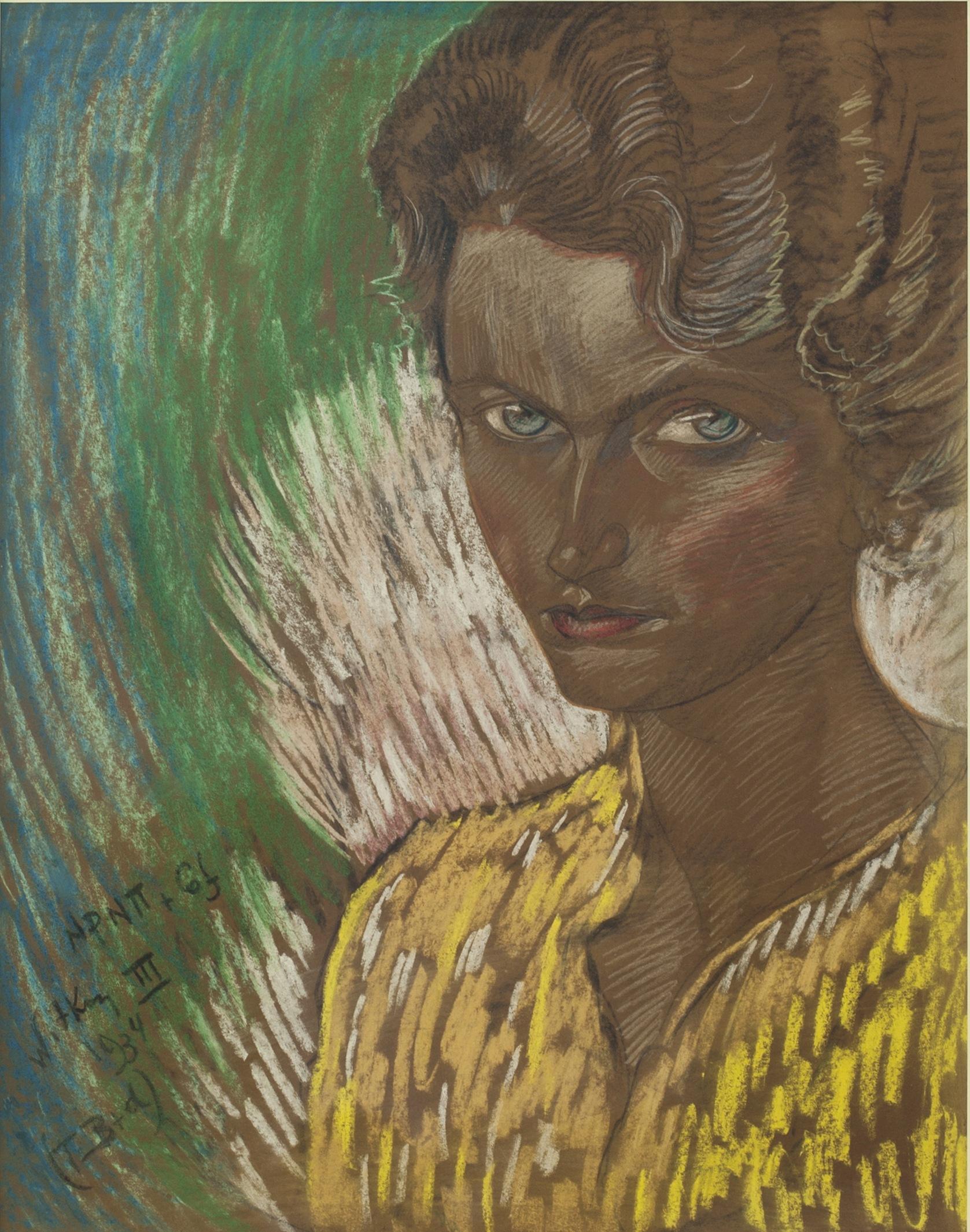 Stanisław Ignacy Witkiewicz Witkacy (1885-1939), Maria z Kopycińskich Bursowa - matka poety Adama Bursy