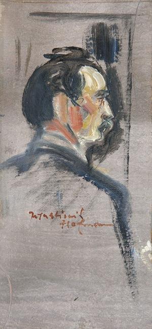 Wlastimil Hofman (1881-1970), Autoportret?