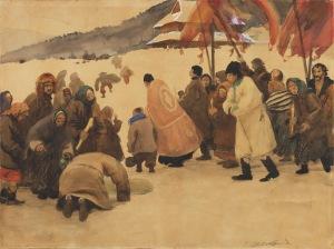 Teodor Axentowicz (1859-1938), Święto Jordanu