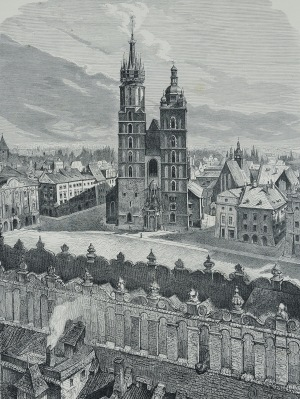 Jan Matejko (1838-1893), Kościół Panny Maryi w Krakowie