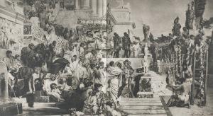 Henryk Siemiradzki (1843-1902), Świeczniki chrześcijaństwa, [1876]