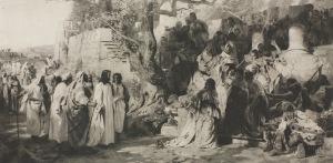 Henryk Siemiradzki (1843-1902), Jawnogrzesznica, [1872]