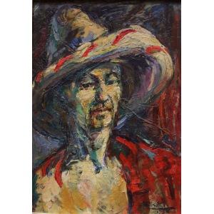 Roman Biliński (1897-1981), Autoportret (1956)