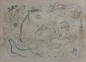 Marc Chagall (1887-1985), Cyrk