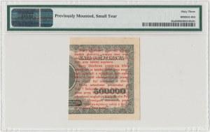 1 grosz 1924 - CY* - lewa połowa - PMG 63