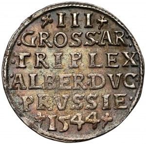 Albert Hohenzollern, Trojak Królewiec 1544
