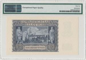 20 złotych 1940 - G - PMG 66 EPQ