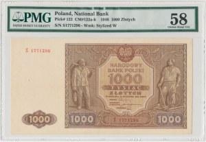 1.000 złotych 1946 - S - PMG 58