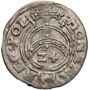 Zygmunt III Waza, Półtorak 1614 Bydgoszcz - orzeł, (3)