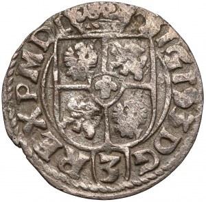 Zygmunt III Waza, Półtorak 1614 Bydgoszcz - tarcze - data w polu