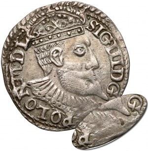 Zygmunt III Waza, Trojak Olkusz 1598 - błąd G-POLON (brak R)