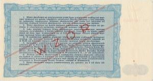 Bilet Skarbowy WZÓR Emisja III - 10.000 złotych 1947