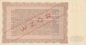 Bilet Skarbowy WZÓR Emisja III - 50.000 złotych 1947