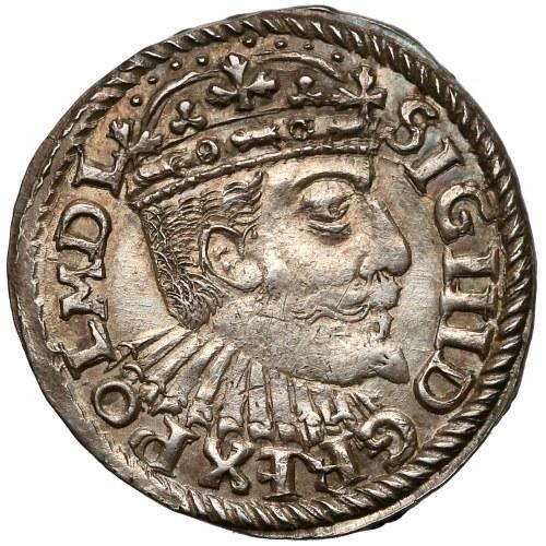 Zygmunt III Waza, Trojak Bydgoszcz 1595 - haki, POL