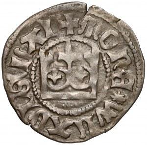 Władysław II Jagiełło, Półgrosz Kraków - bez znaku - korona prosta