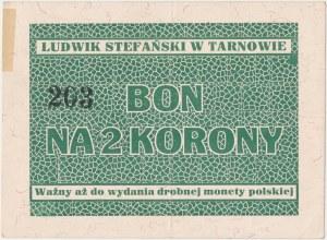 Tarnów, Ludwik Stefański, 2 korony (1919-1920)