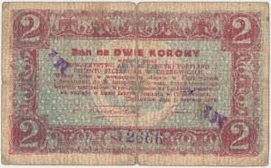 Ciężkowice, 2 marki / 2 korony 1919