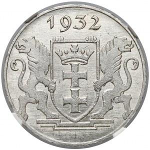 Gdańsk, 2 guldeny 1932 Koga - NGC MS65