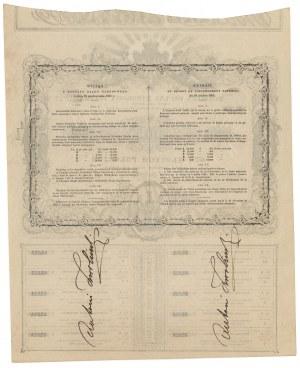 5% Pożyczka Ogólna Narodowa Polska, 100 złotych 1863