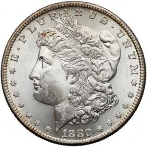 USA, Dolar 1880-S, San Francisco - Morgan Dollar
