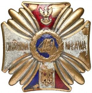 Odznaka 49 Pułku Piechoty z Kołomyi