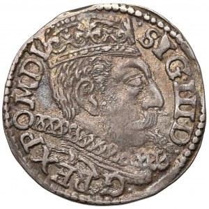 Zygmunt III Waza, Trojak Poznań 1600 - litera P