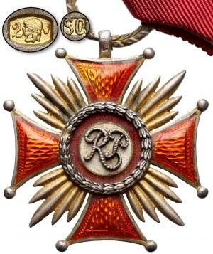 Złoty Krzyż Zasługi - wykonanie luksusowe