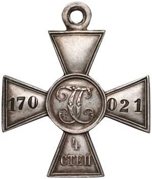 Krzyż Świętego Jerzego z wojny rosyjsko-japońskiej 1904-5 roku