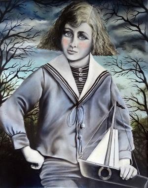 Marta Julia Piórko (ur. 1981, Gdańsk), Młody żeglarz, 2017 r.