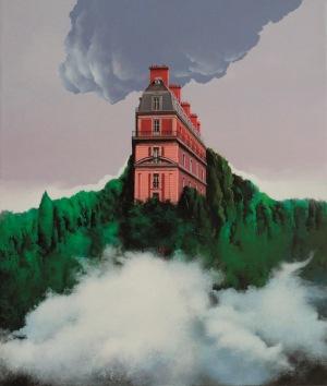 Henryk Laskowski, Dwie chmury (z cylu Montmartre), 2017
