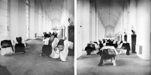 Natalia LL (ur. 1937), Instalacje Sfera Paniczna, Niemcy, fotografie zrealizowane w trakcie wystawy KUNST-EUROPA