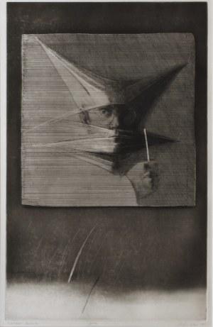 Andrzej Pietsch (1932 - 2010), Portret artysty, 1983 r.