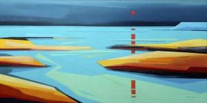 Marta Bilecka (ur. 1975, Łódź), Impression Sunrise, 2017 r.
