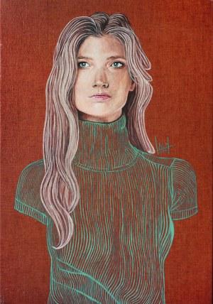 Jolanta Lach (ur. 1988, Wrocław), Portret Sary, 2015 r.