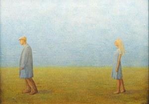 Mikołaj Kasprzyk (ur. 1952, Warszawa), Spacer z aniołem, 1999 r.