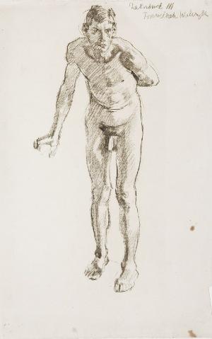Józef MEHOFFER (1869-1946), Postać nagiego mężczyzny