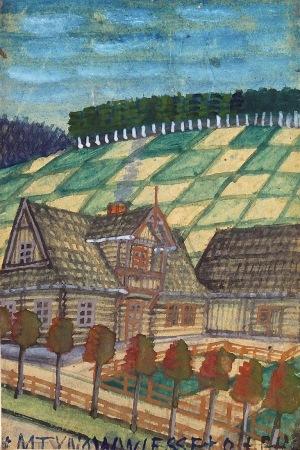 Nikifor KRYNICKI (1895-1968), Domy