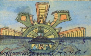 Nikifor KRYNICKI (1895-1968), W świętym kręgu