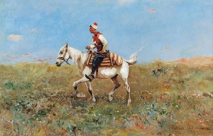 Tadeusz AJDUKIEWICZ (1852-1916), Na stepie