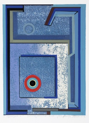 Henryk PŁÓCIENNIK (ur. 1933), Abstrakcja, 2009
