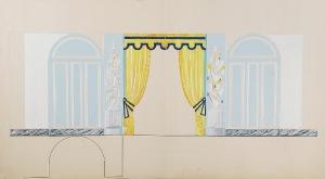 Tadeusz GRONOWSKI (1894-1990), Projekt wnętrza II