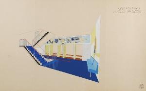 Tadeusz GRONOWSKI (1894-1990), Projekt holu