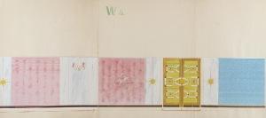 Tadeusz GRONOWSKI (1894-1990), Projekt wnętrza - W5, 1962