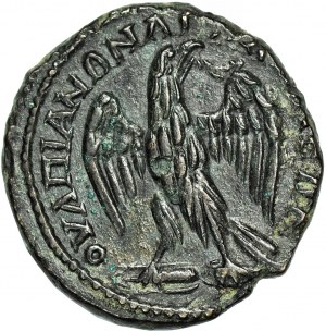 Cesarstwo Rzymskie, monety prowincjonalne, Miasto Anchialos w Tracji, Gordian III (August 238-244 ne) i Trankwilina (żona Gordiana III), 5 Assaria