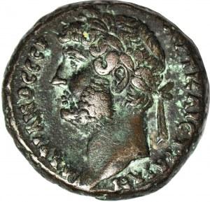 Cesarstwo Rzymskie, monety prowincjonalne, Miasto Aleksandria w Egipcie, Hadrian (August 117-138 ne), Tetradrachma bilonowa rok 19 = 134/5 ne
