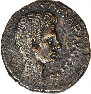 Cesarstwo Rzymskie, August (27 pne – 14 ne), Zarządca Cn. Piso Cn.f. (15 pne), As, mennica Rzym