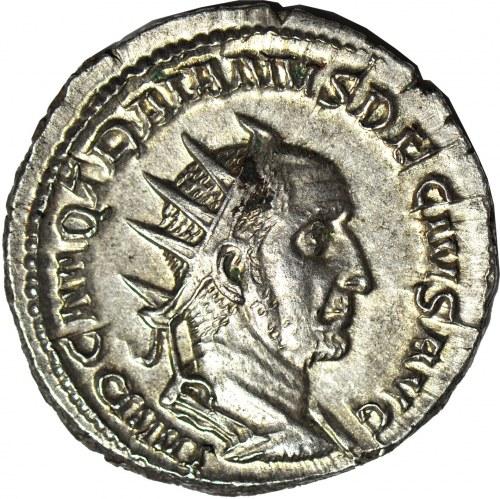 Cesarstwo Rzymskie, Trajan Decjusz (August 249-251 ne), Antoninian, mennica Rzym
