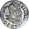 Zygmunt III Waza, Trojak bez daty, Lublin, menniczy
